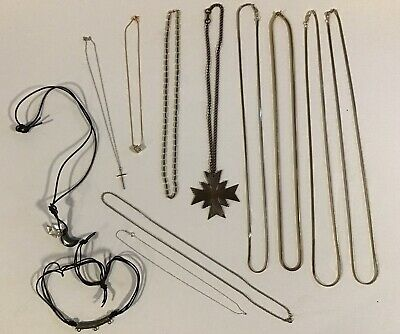 $ CDN12.99 • Buy Lot Of Jewellery - 12 Vintage Necklaces