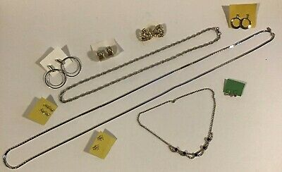 $ CDN9.99 • Buy Mixed Vintage Jewellery Lot Of 10 Quality Pcs (earrings, Necklaces)