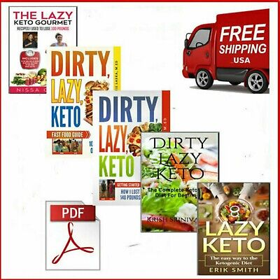 $1.92 • Buy ✅🔥Total 5 The Top Dirty Keto Lazy Cookbook🔥 PDF/Ebook⚡FAST Delivery