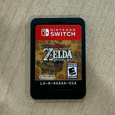 $44.99 • Buy Legend Of Zelda: Breath Of The Wild Nintendo Switch Cartridge Only Free Shipping