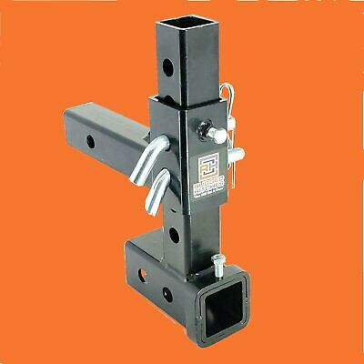 $89 • Buy Rugged - Adjustable Hitches Ball Mount Drop / Rise Trailer Tow Hitch 2  Receiver