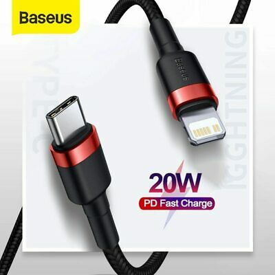 AU12.99 • Buy Baseus USB Type-C Fast Charge Charging Cable Data Sync Cord Cord 0.5 M/1M/2M