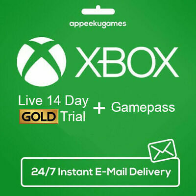 $3.99 • Buy Xbox LIVE 14 Day + 14 Day Game Pass, XBOX GAME PASS ULTIMATE Instant Delivery