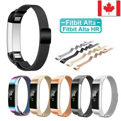 $ CDN11.99 • Buy Stainless Steel Magnetic Wristband Bracelet Strap Band For Fitbit Alta/Alta HR