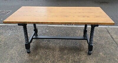Vintage Younger Toledo Table In F&b  Pitch Black    Delivery Available • 195£