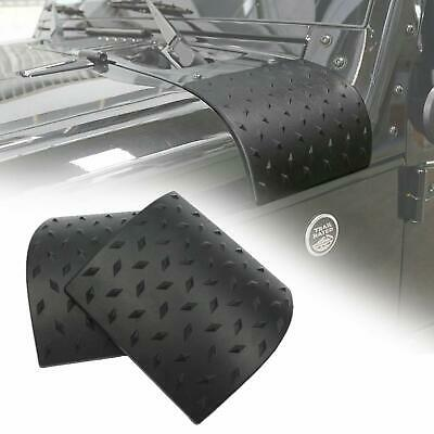$13.35 • Buy Black Cowl Body Armor Outer Cowling Cover For Jeep Wrangler JK Unlimited 2007-17