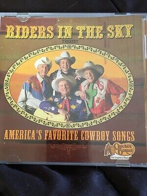RIDERS IN THE SKY / Americas Favorite Cowboy Songs [ CD] • 5.39£
