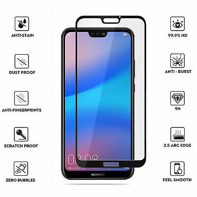 For Huawei P30 P20 Pro Lite Honor 10 9 Lite 3D Tempered Glass Screen Protector • 2.89£