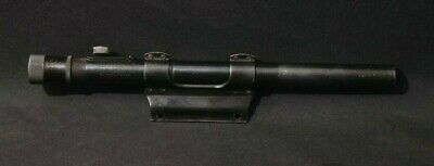 $36.50 • Buy Vintage Weaver 330 M8 2.5X15MM Blued Post Reticle Fixed Rifle Scope W/T3 Mount
