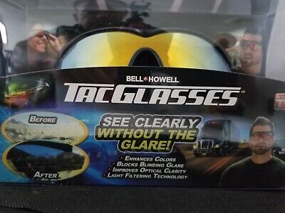 AU11.04 • Buy NEW! Bell And Howell Tac Glasses Sports Polarized Sunglasses Outdoors REAL