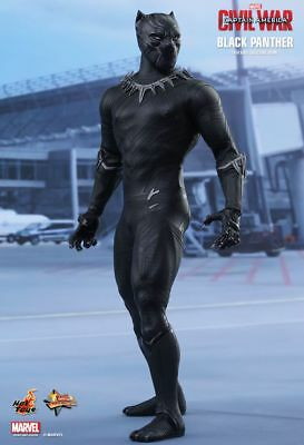 AU529.99 • Buy CAPTAIN AMERICA 3 - Black Panther 1/6th Scale Action Figure MMS363 (Hot Toys)