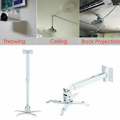 AU20.99 • Buy Universal LED LCD Video Projector Ceiling Mount Bracket Extendable Wall Mount