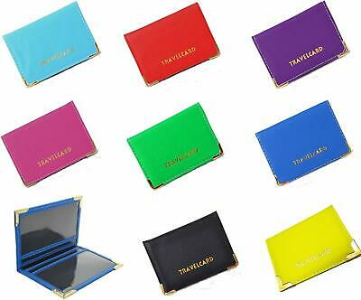 £1.95 • Buy GENUINE Oyster Travel Bank Card Bus Pass Rail Holder Leather Wallet Cover Case