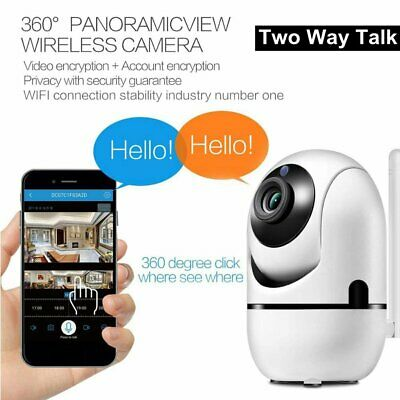 Smart Camera 1080P Wireless Wifi Infrared Ip Camera Night Vision Hd Camera WQ • 14.01£