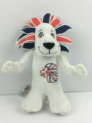 2012 Olympic Mascot And Team GB Lion Plush Teddy • 4£