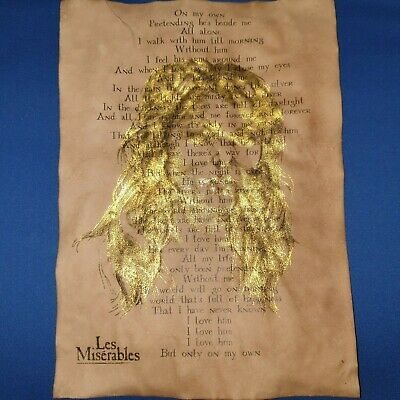 £7.99 • Buy Les Miserables Song Sheet, Gold Leaf, On My Own