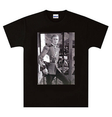 Zulu Michael Caine Pose T Shirt New Black Or White • 14.99£