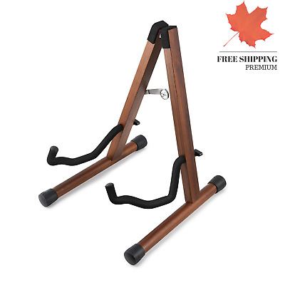 $ CDN42 • Buy DS-3 Original Wooden Guitar Stand Handmade From Acacia Wood For Acoustic Elec...