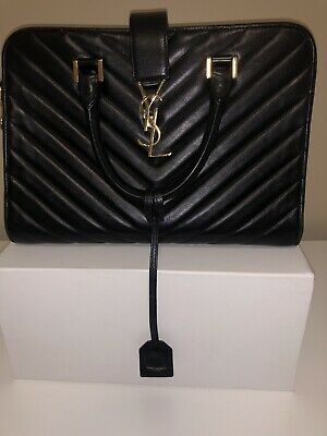 AU1200 • Buy Saint Laurent Bag YSL Bo Monogramme Sl