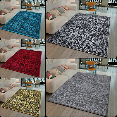 Modern Floral Design Area Rugs Carpets Runner For Living Room Bedroom Floor Mats • 46.99£