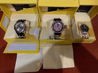 $ CDN33.95 • Buy Lot Of 3 Watches By Invicta