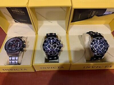 $ CDN33.95 • Buy Lot Of 3 Watches For Men By Invicta Lot#2