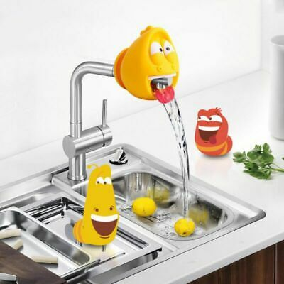$ CDN17.61 • Buy Novelty Cartoon Larva Silicone Faucet Extenders Insect Shape Home Decoration Acc