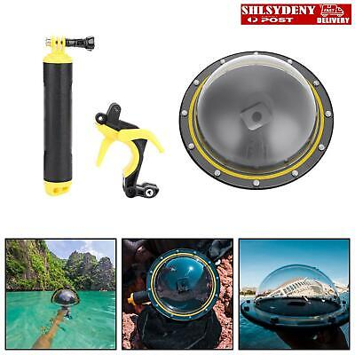 AU77.99 • Buy TELESIN Dive Underwater Dome Port Photography Lens Cover For GoPro Hero 5 6 7 AU