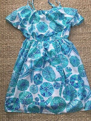 $12.99 • Buy Lilly Pulitzer Small Petite Target Blue Dress Baby Doll Starfish Women's