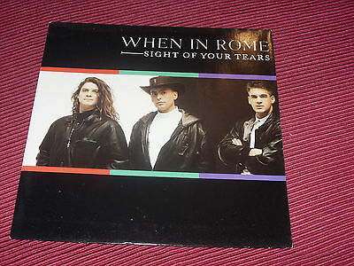 £3.44 • Buy When In Rome:  Sight Of Your Tears   1989  EX+  UK 7