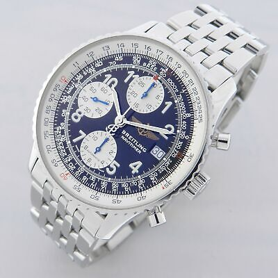 $ CDN1222.58 • Buy Breitling Old Navitimer Ref. A13322 Vintage Chronograph Watch 100% Genuine