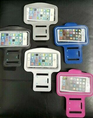Apple Iphone 6,7/8 Gym Running Jogging Sports Armband CaseHolder Pl Specify Col • 2.98£