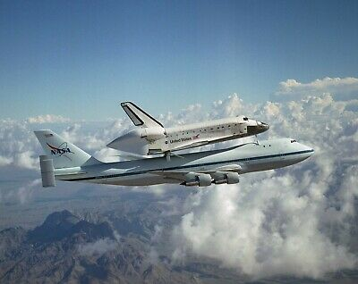 Space Shuttle Boeing 747 NASA Astronomy HD POSTER    • 13.74£