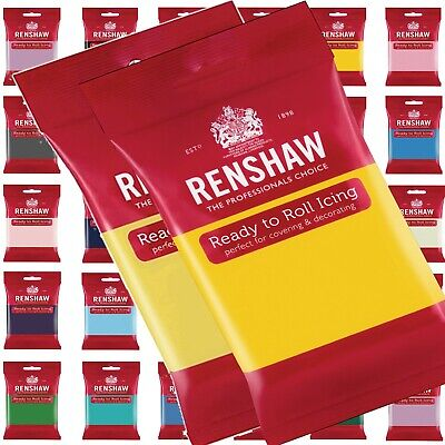 Renshaw Ready To Roll 500g SugarPaste Fondant Cake Decoration - 1st Class Post  • 4.79£