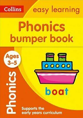 Phonics Bumper Book Ages 3-5 Reception English Home Learning An... 9780008275433 • 5.62£