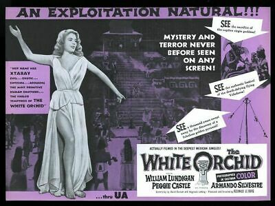 $ CDN48.98 • Buy 1954 The White Orchid Peggy Castle Movie Release Vintage Trade Ad