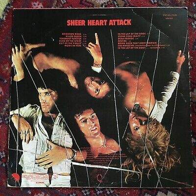 Queen ‎– Sheer Heart Attack(South African Press) • 15£