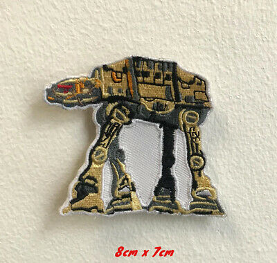Star Wars At At Art Badge Iron On Sew On Embroidered Patch • 1.99£