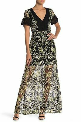 £29.99 • Buy French Connection Joyce Lace Maxi Party Dress Floor Length Gown UK 8 - 14 New