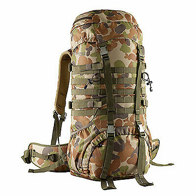 AU129.99 • Buy Caribee Cadet 65LT Military Inspired Tactical Backpack Rucksack AUSCAM
