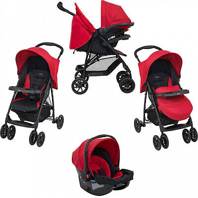 Graco Mirage Baby Toddler Buggy Stroller Pushchair Travel System - Chili Spice • 129.55£