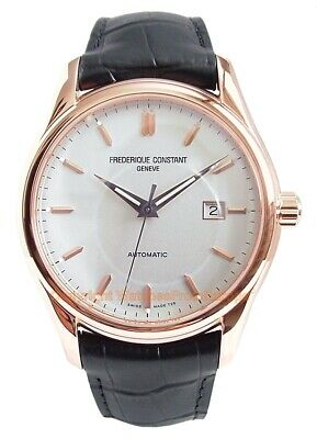 $1137 • Buy FREDERIQUE CONSTANT Clear Vision Automatic Rose Gold-tone Men's Automatic Watch