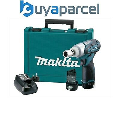 Makita TW100DWE LXT 10.8v Lithium Cordless Impact Wrench + 2 Batt + Charger • 119.99£
