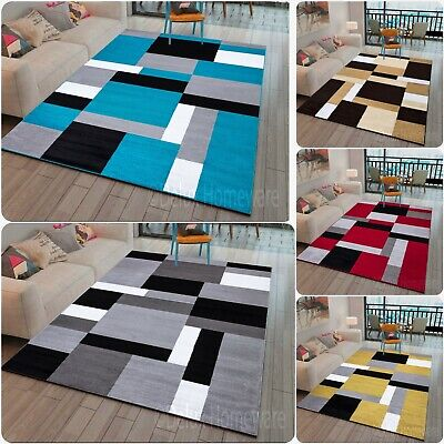 Modern Home Decor Area Rugs Large Small Living Room Carpets Runner Floor Mats • 23.99£