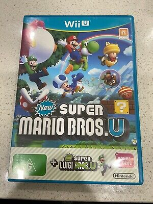 AU28 • Buy New Super Mario Bros U - Nintendo Wii U- 2013-2014 Plus Bonus Videos