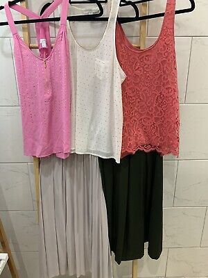 AU18 • Buy Ladies Bulk Size 10-12 Clothing, Skirts & Tops, Forever New Glassons