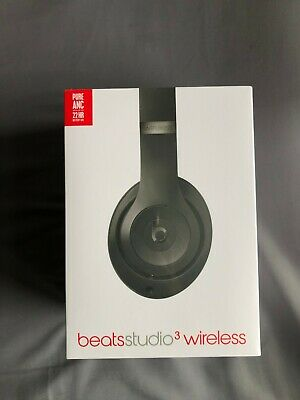 BRAND NEW - Beats By Dr. Dre MQ562ZM/A Studio3 Wireless Headphones - Matte Black • 210£