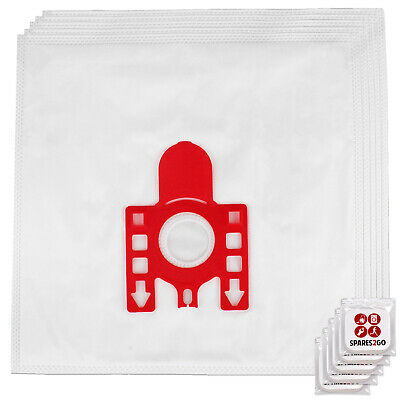 FJM Type 5 X Dust Bags For MIELE S4210 S4511 S510 S372 S4211 Vacuum + Fresh • 8.69£