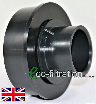 "£10.99 • Buy 4 /110mm Internal Blanking Bung/cap Reducing To 2""/56mm Rigid Solvent Pipe Koi"