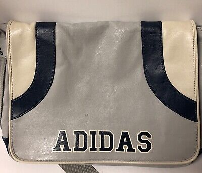 $24.99 • Buy Adidas Messenger / Shoulder / Laptop / Side Bag SA1002 Used ~Unique ~ Retro